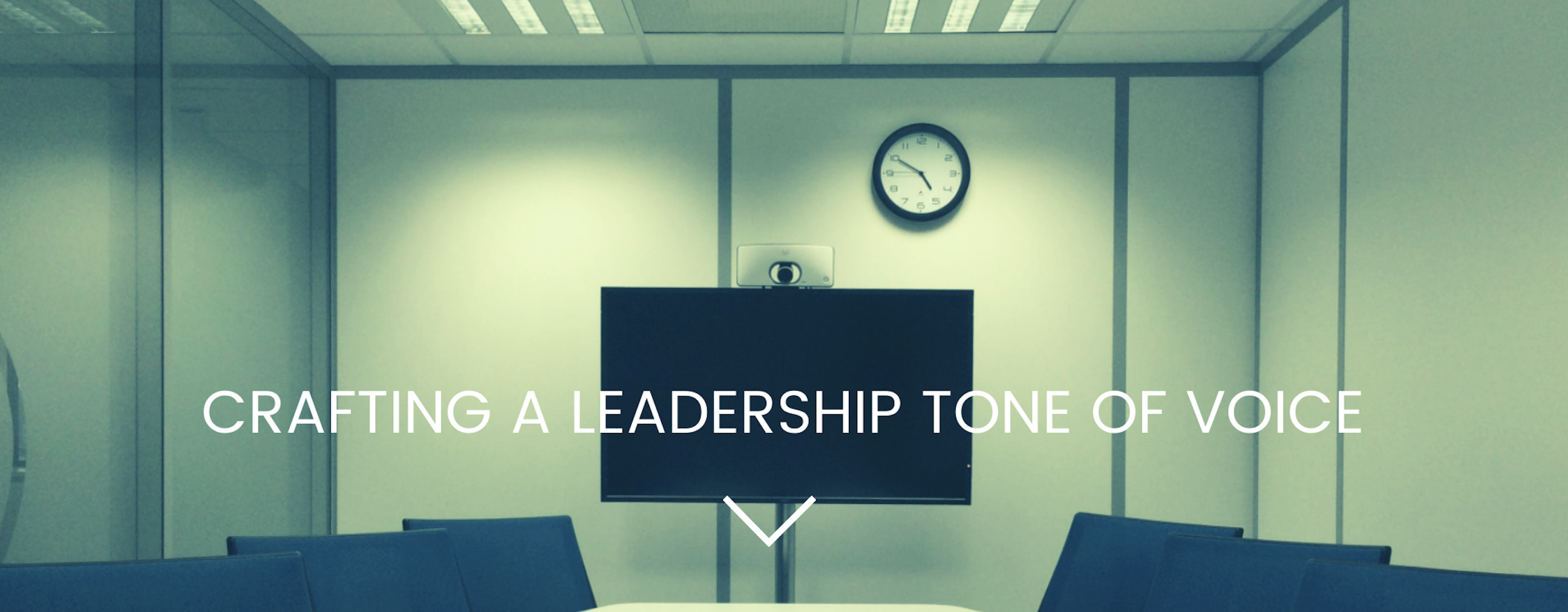 Crafting a Leadership Tone of Voice