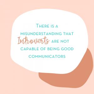 communicating introvert