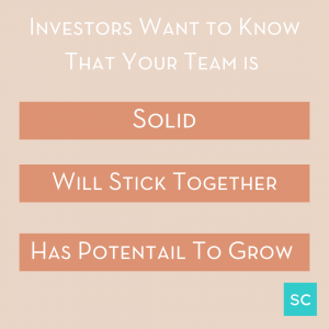introducing your team to investors