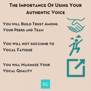 the importance of using your authentic voice