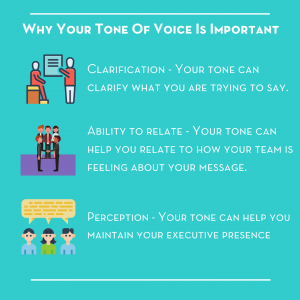 why your tone of voice is so important