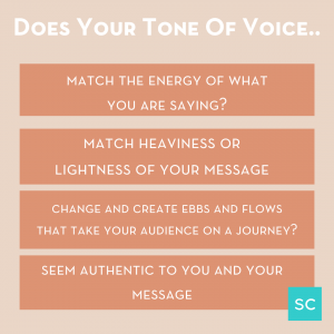 how to perfect your message with tone of voice and body language
