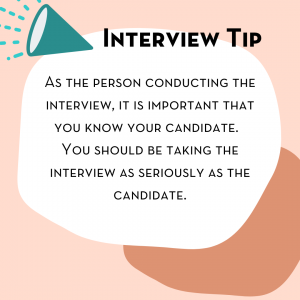 how to hold an effective interview