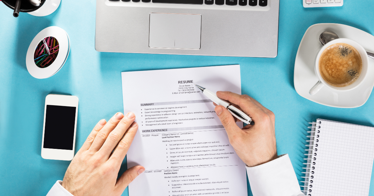 how to write a resume that gets noticed