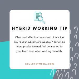 hybrid work 4 ways to be successful