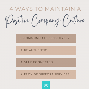 hybrid work 4 ways to maintain a positive company culture